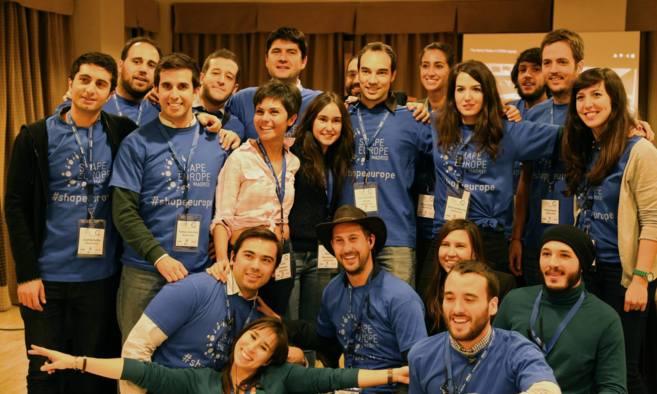 Parte del equipo español de Global Shapers.
