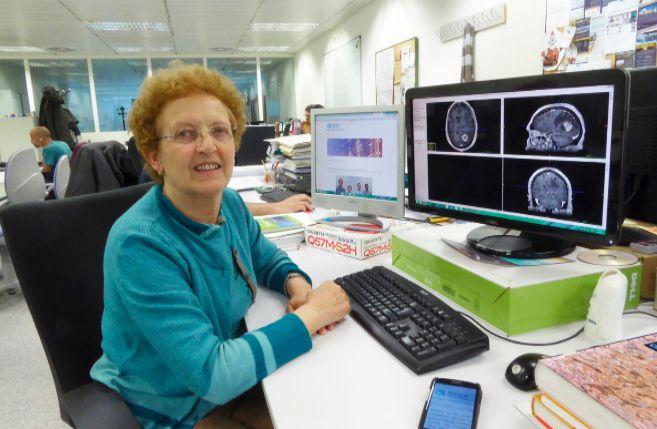 La investigadora Montserrat Robles, en el Instituto ITACA de la...