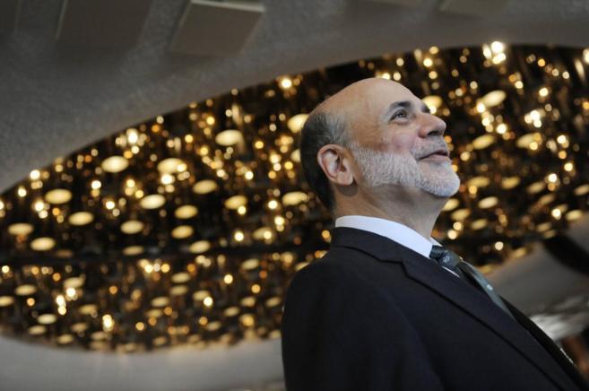El ex presidente de la Reserva Federal de Estados Unidos durante una...