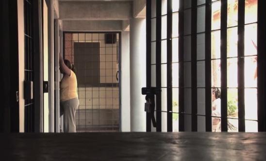 Una mujer cumple su condena en una prisión mexicana