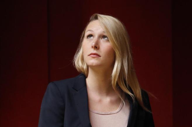 Marion Marechal-Le Pen, nieta de Jean Marie Le Pen, fundador del...
