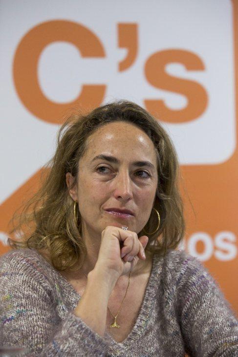 La candidata de Ciudadanos a la Generalitat, Carolina Punset.