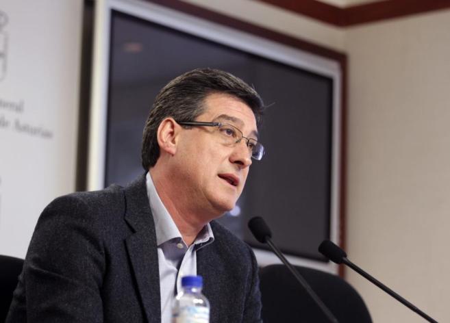 Ignacio Prendes, el día que anunció la creación de la plataforma...