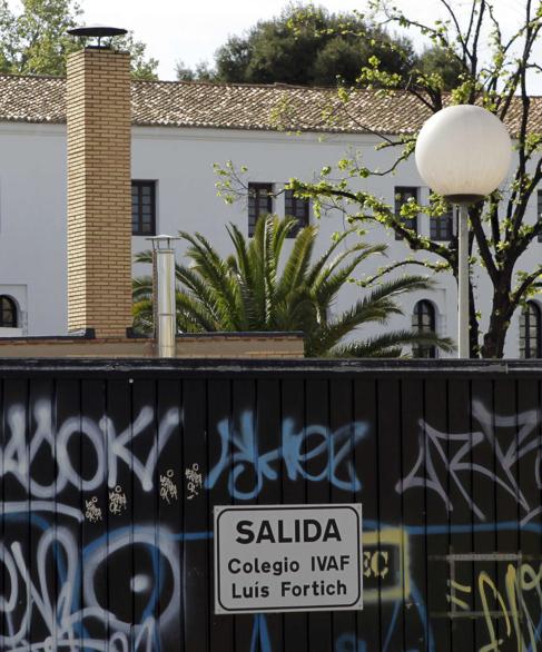 Instalaciones del colegio Luis Fortich, de la Diputación.
