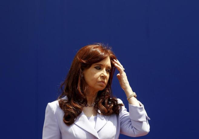 La presidenta argentina Cristina Fernandez de Kirchner.