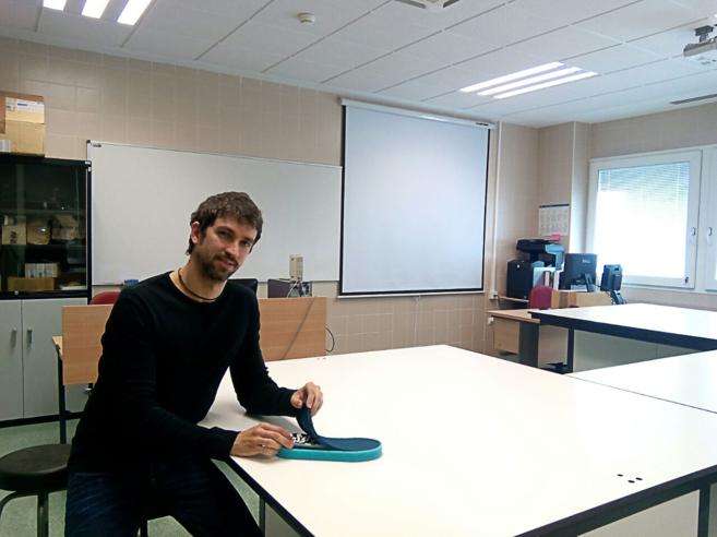 Jaime Ruiz, el ingeniero de Andaltec que ha participado en el...