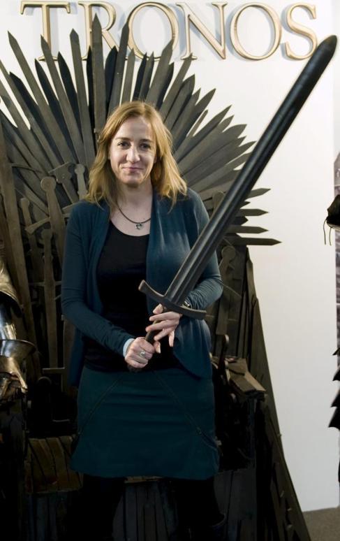 La ex candidata de IU a la presidencia de la Comunidad de Madrid Tania...