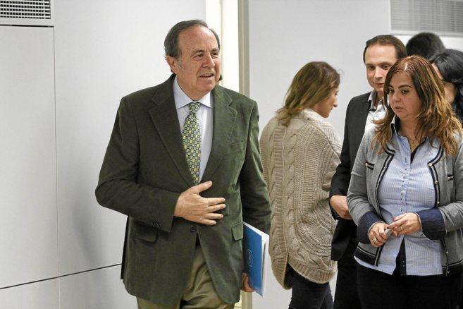 José María Rodríguez, presidente del PP de Palma.