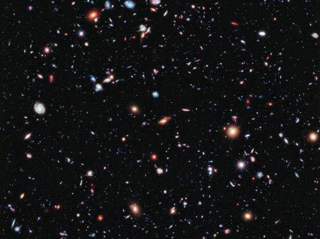El Campo Extremadamente Profundo del 'Hubble'