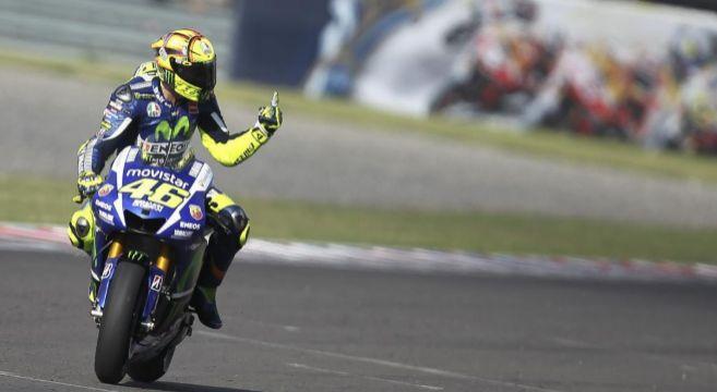 Rossi, vencedor en la meta de Termas de Río Hondo.