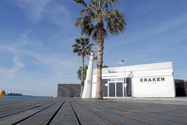 Una de las discotecas del Puerto, Kraken, que cierra actualmente entre...