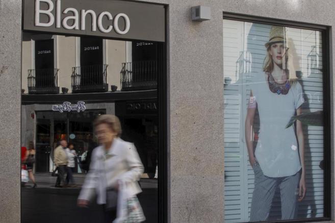 Tienda de la marca de moda Blanco