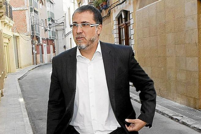 El secretario y portavoz de CLR, Pedro Mancebo.