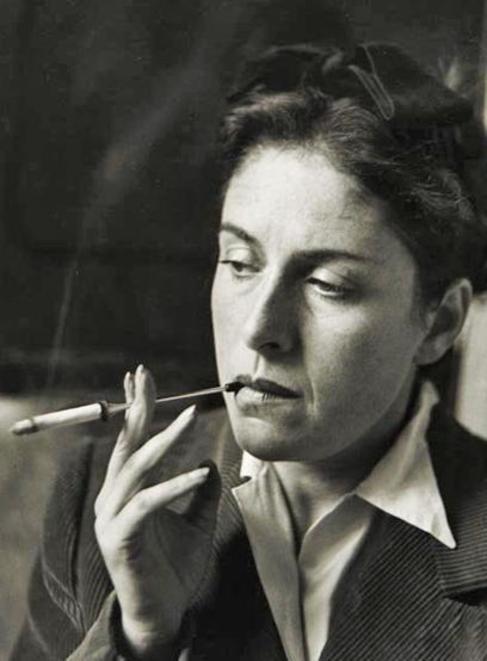 La fotógrafa Dora Maar, amante de Picasso.