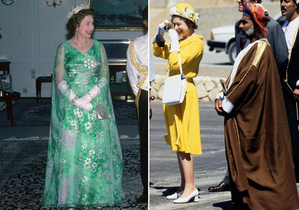 En esta época, la monarca ya comenzaba a mostrar el inconfundible...