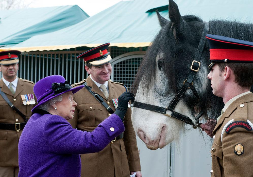 Desde pequeña, Isabel II es una apasionada de los animales,...