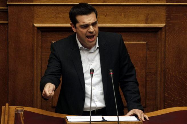 El presidente de Grecia, Alexis Tsipras.