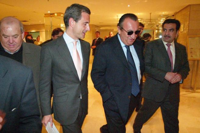 Carlos Fabra y Francisco Martínez cuando eran mandatarios de la...