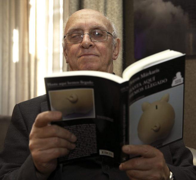 El escritor griego Petros Márkaris (Estambul, 1937).