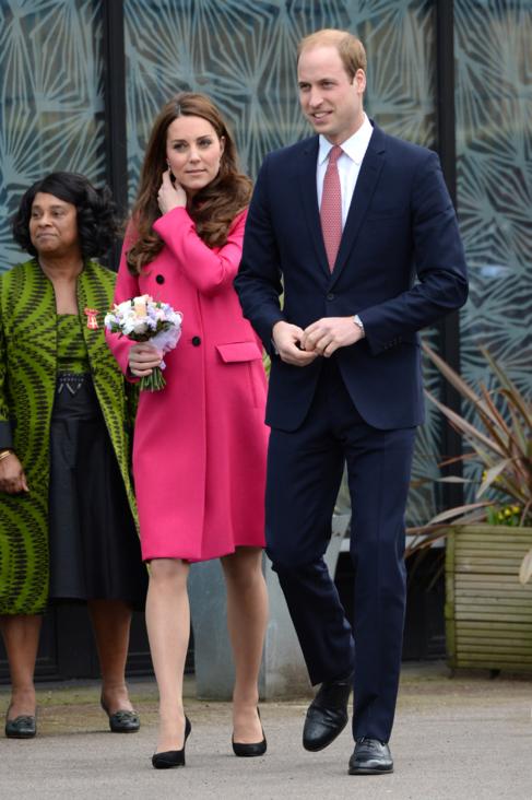 Los duques de Cambridge, en su último compromiso público hace un...