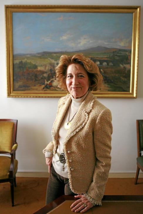 La directora de la Real Academia de la Historia, Carmen Iglesias.