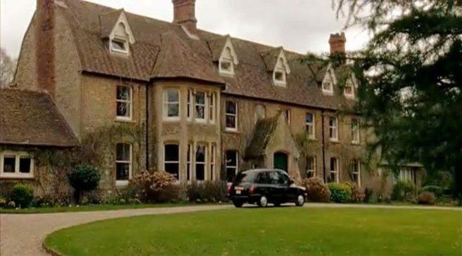 Headley Grange, la casa de 'Stairway to heaven'.