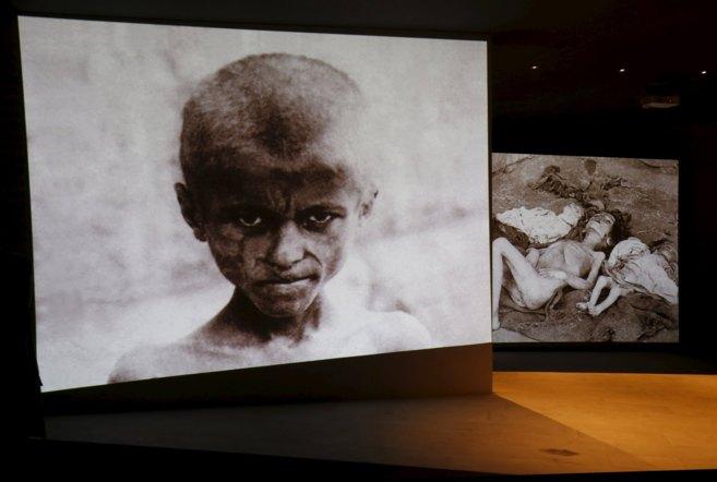 Fotografías históricas de las matanzas de armenios en el Imperio...