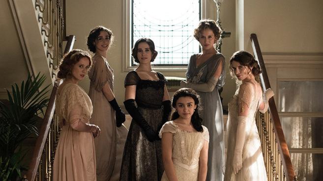 Las 'Seis hermanas', protagonistas de la nueva serie de TVE.