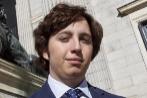 El 'pequeño Nicolás', a las puertas del Congreso.