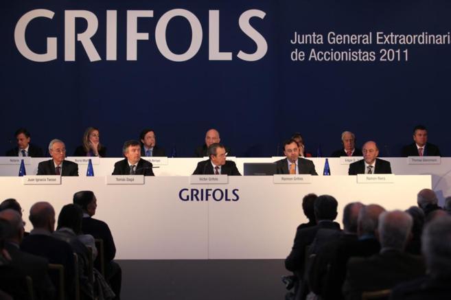 Junta de accionistas de Grifols.
