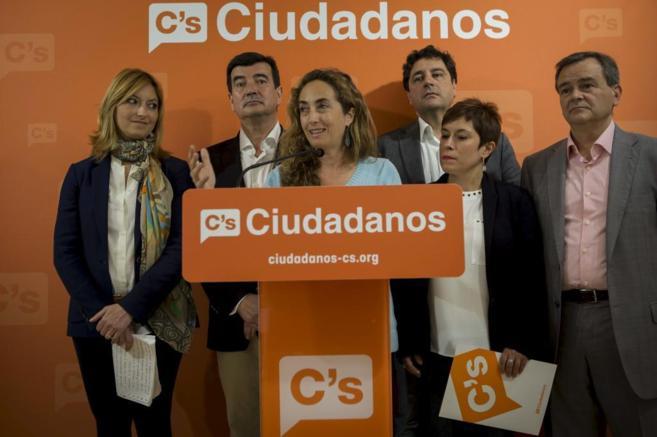 Acto de presentación de las candidaturas de Ciudadanos.