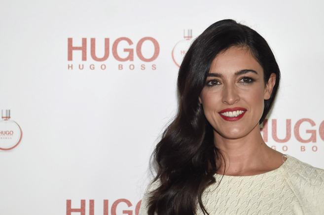 Blanca Romero en un evento de Hugo Boss.