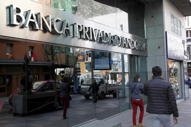 Imagen de la sede principal de BPA en Andorra la Vella.