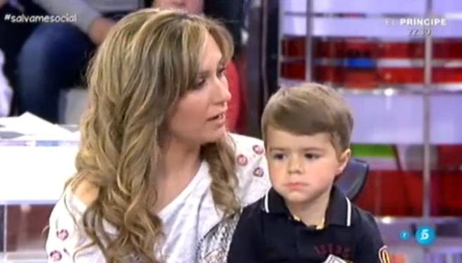 Imagen de Elvira y Álvaro durante su aparición en el programa de...