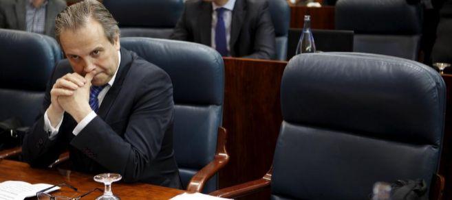 Antonio Miguel Carmona, en la Asamblea de Madrid.