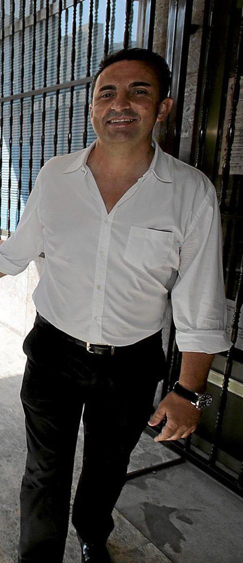 El alcalde de La Nucía, Bernabé Cano.