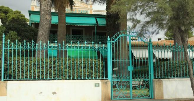 La villa en la Playa de Voramar propiedad de amigos de Barberá y...