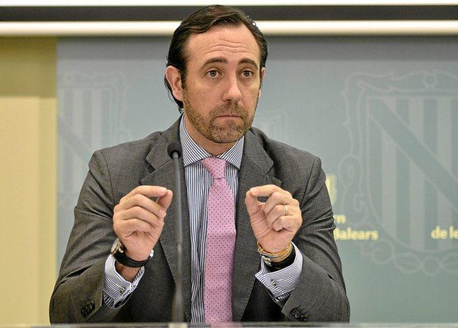 El presidente del Govern y candidato del PP a la reelección, José...