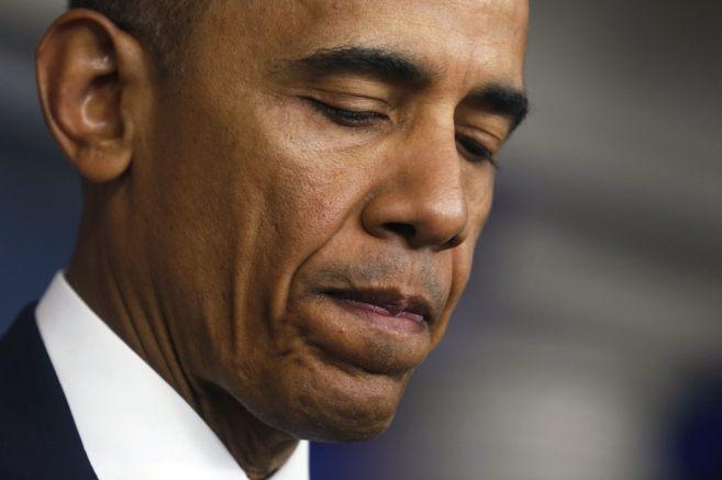 Barack Obama habla tras el anuncio de la muerte de los secuestrados,...