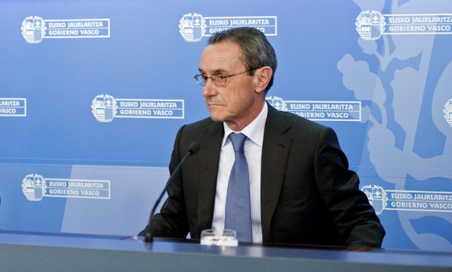 El consejero de Empleo del Gobierno vasco, Ángel Toña.