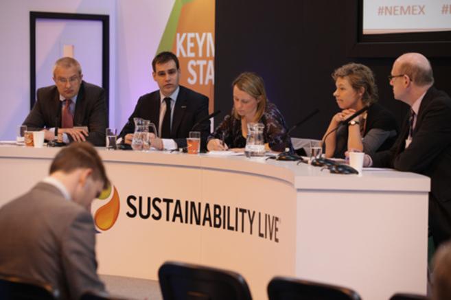 Uno de los paneles del Sustainability Live de Birmingham.