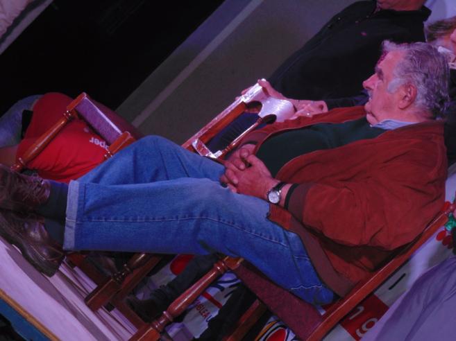 Mujica, fotografiado durante su conversación con ELMUNDO.es