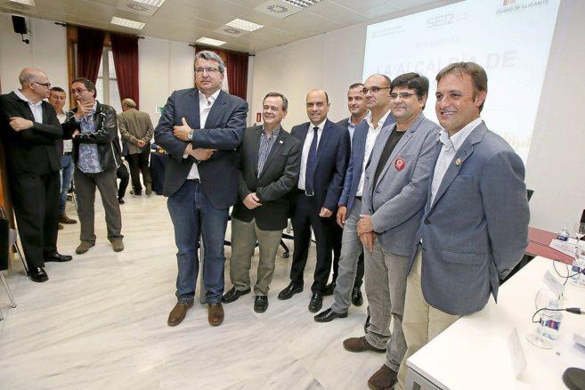 Llopis (UPyD), Cifuentes (C's), Echávarri (PSOE), Manuel...