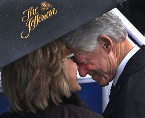 Bill Clinton y Hillary Clinton.