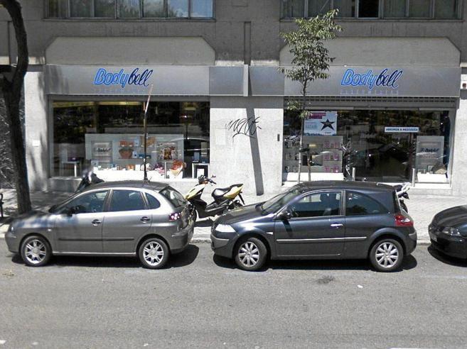 Fachada de la tienda Bodybell en Madrid.
