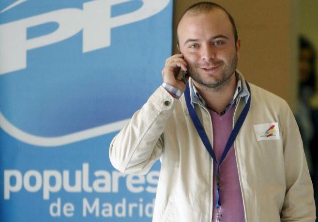 Ángel Carromero, en un congreso de Nuevas Generaciones en Alcalá de...