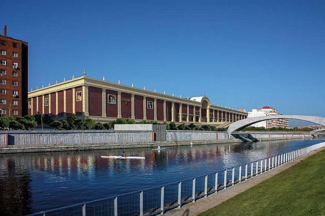 Recreación del centro comercial Plaza Río 2, junto al Manzanares.