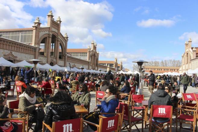 Mercado de Productores en Matadero Madrid.