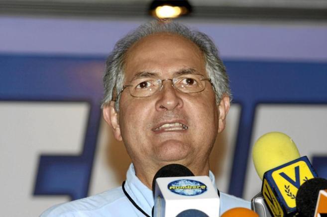 El opositor Antonio Ledezma en una imagen de archivo del año 2008.