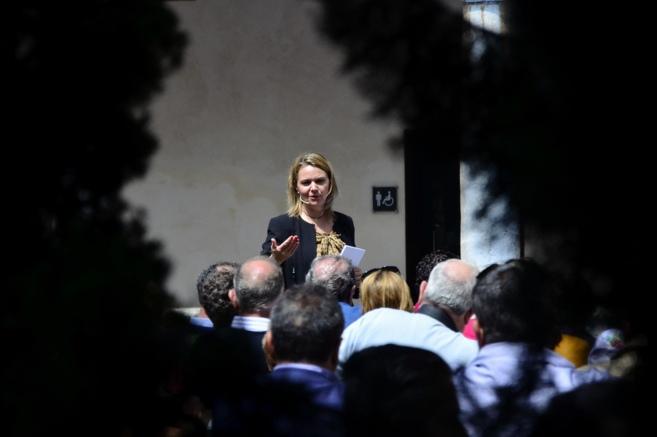 La candidata del PP a la presidencia del Consell de Mallorca, Maria...
